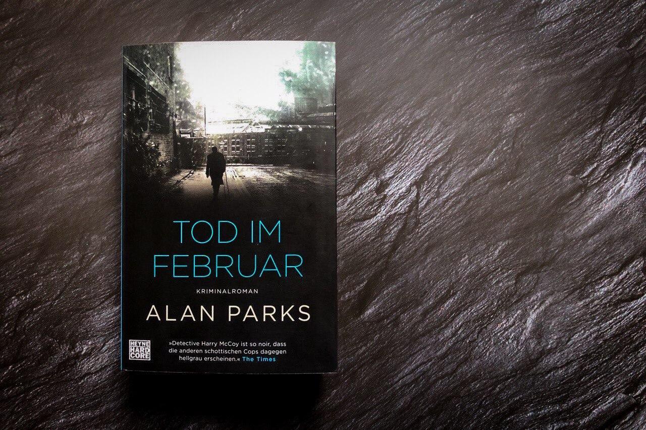 Alan Parks Tod im Februar Titel