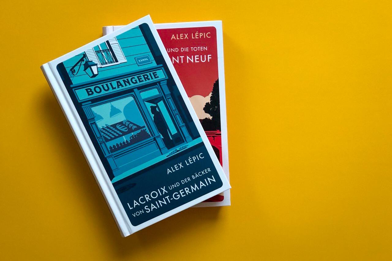 Alex Lépic Lacroix und der Bäcker von Saint-Germain Titel Paris Frankreich