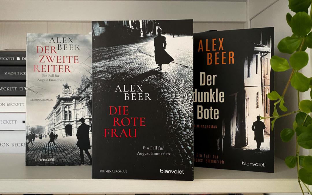 Alex Beer: Die rote Frau
