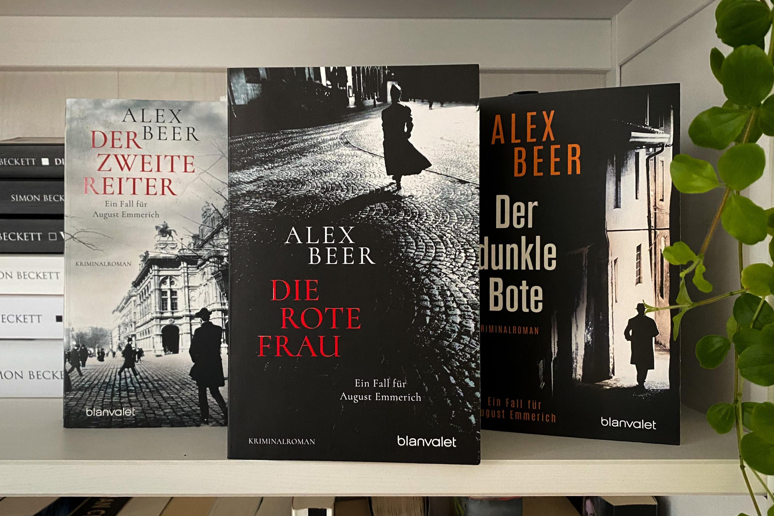 Alex Beer Die rote Frau Wien Erster Weltkrieg Titel