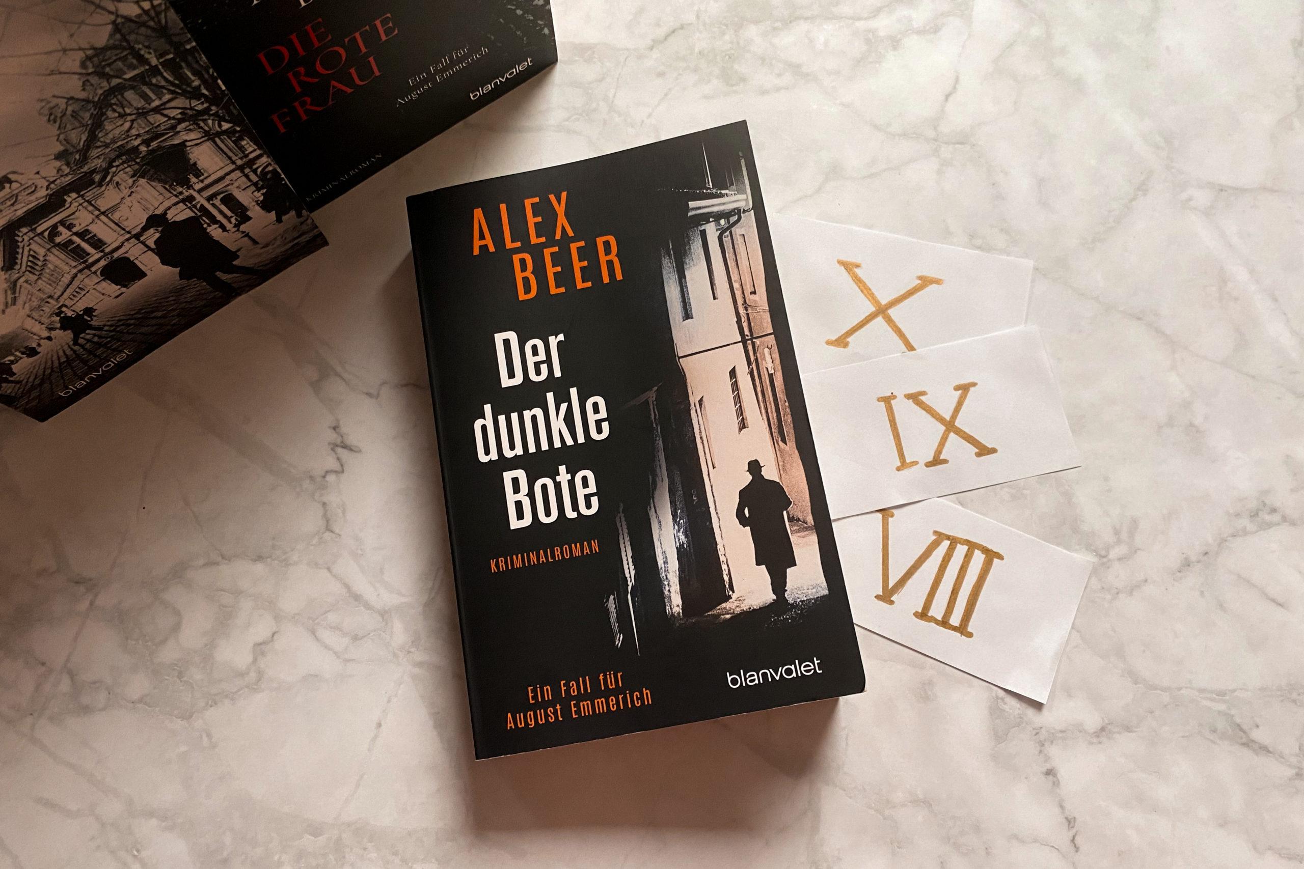 Alex Beer Der dunkle Bote Wien Titel