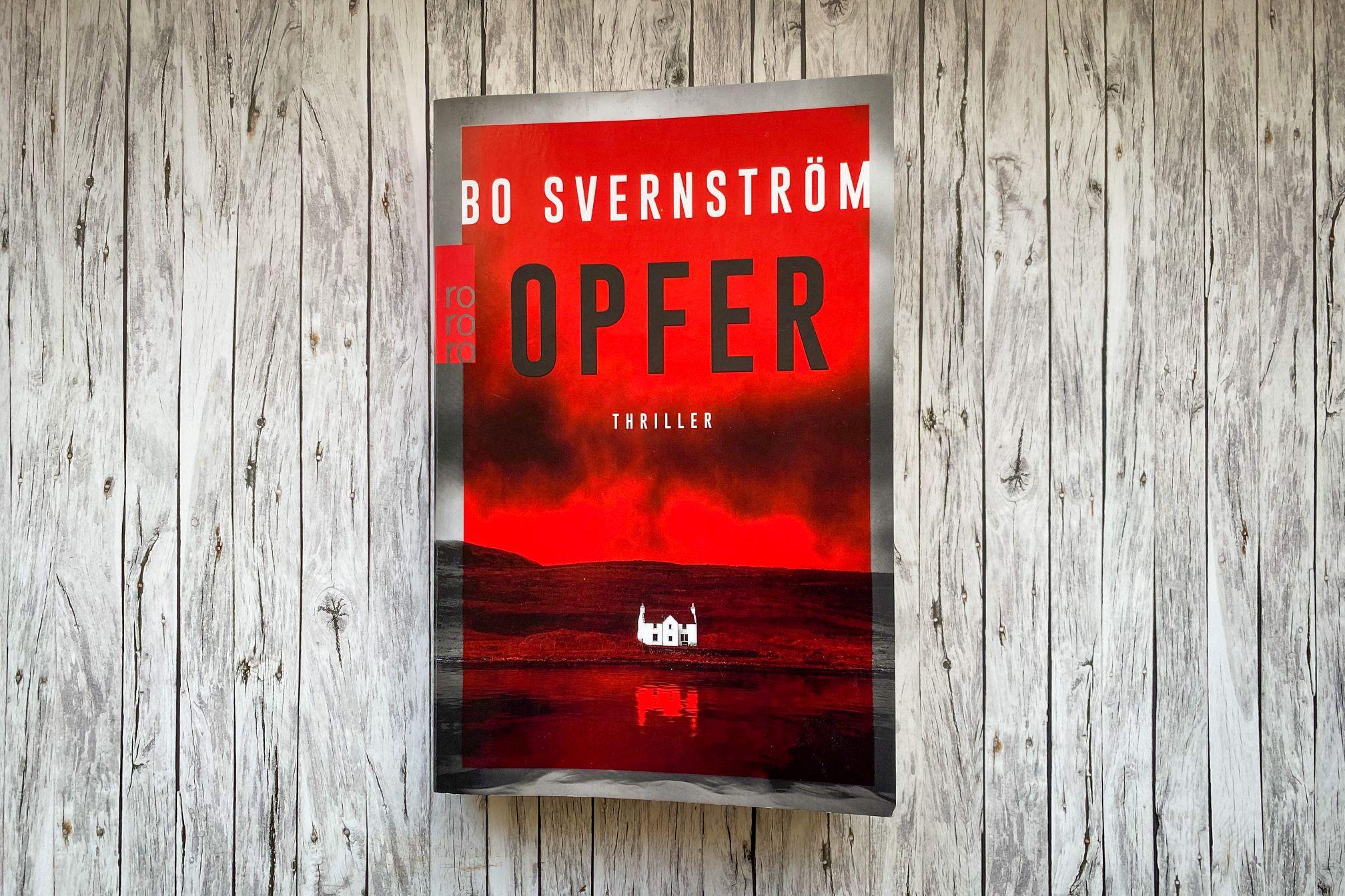 Opfer Bo Svernström Stockholm Schweden Thriller