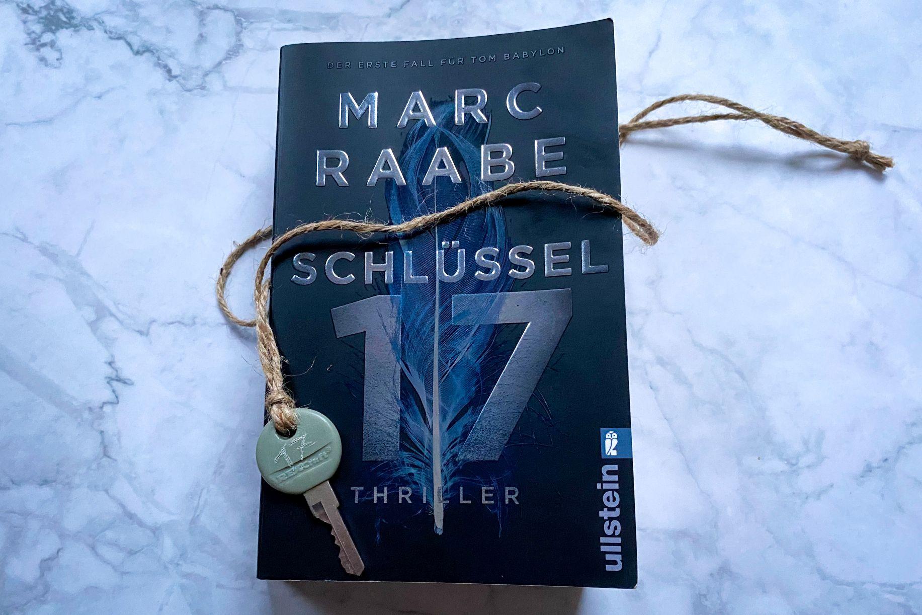Marc Raabe Schlüssel 17 Thriller Berlin Deutschland Tom Babylon Sita Johanns
