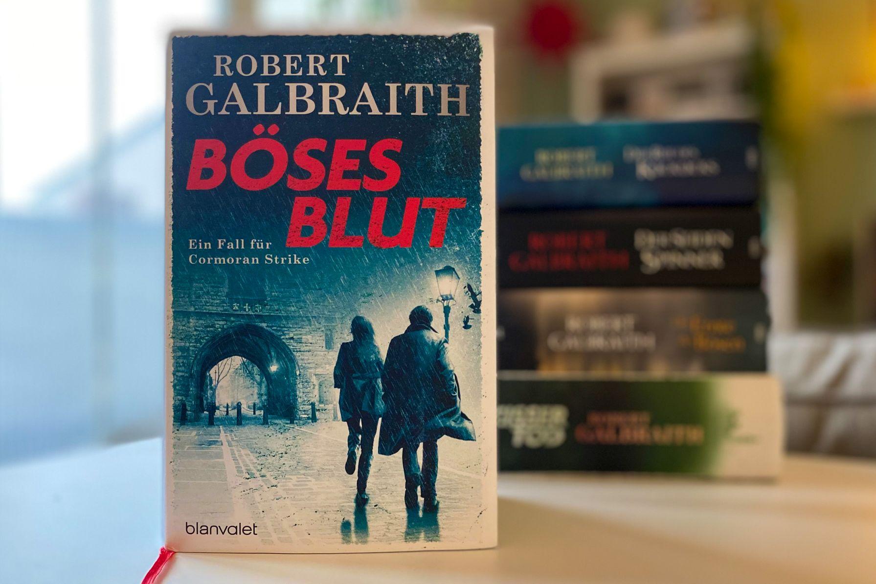 Robert Galbraith Böses Blut Cormoran Strike Robin Ellacott Kriminalroman Krimi London