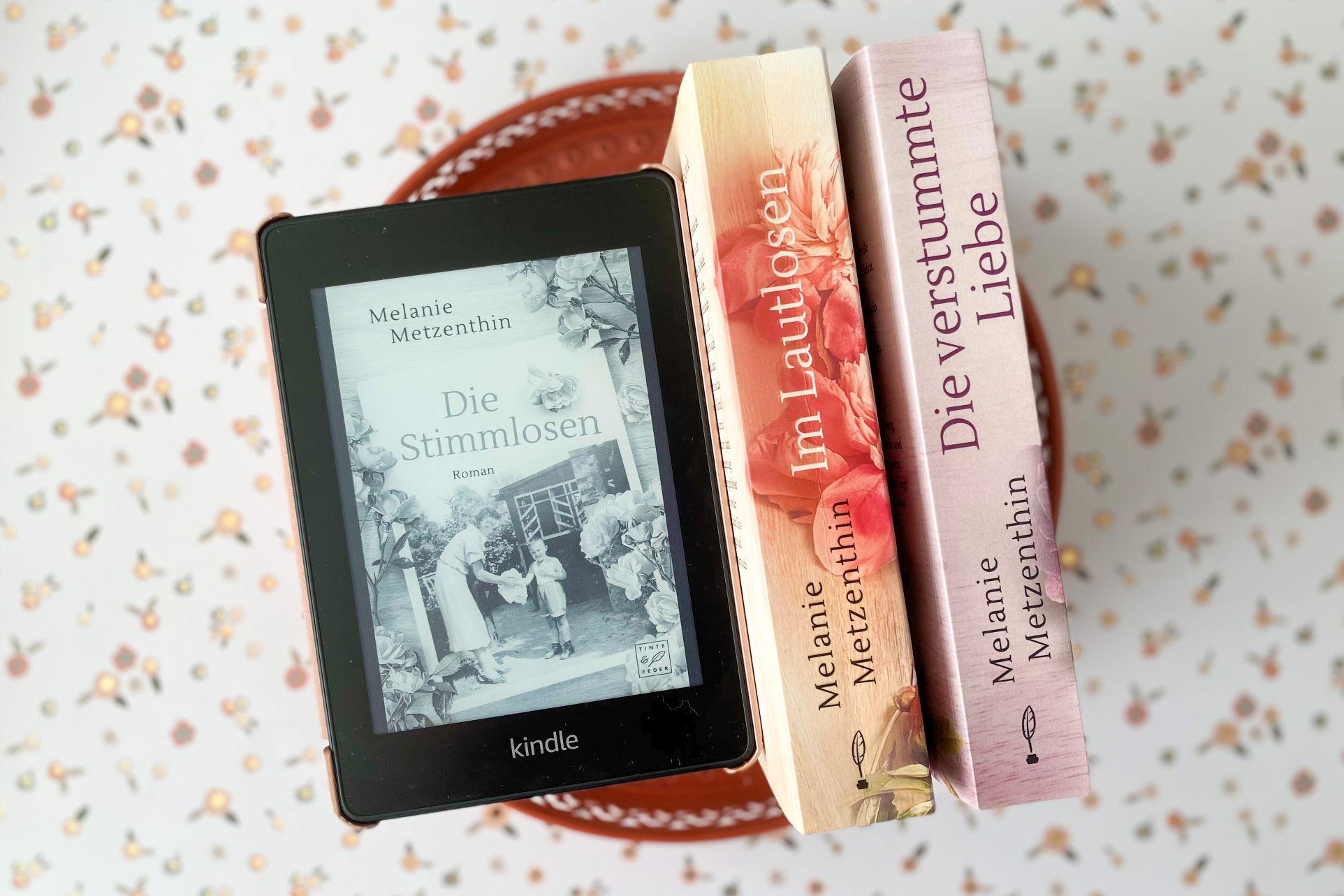 Melanie Metzenthin Die Stimmlosen Hamburg Nachkriegsdeutschland historischer Roman