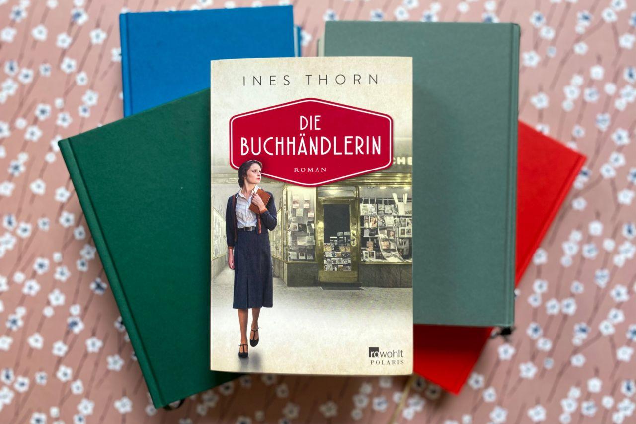 Ines Thorn Die Buchhändlerin Frankfurt am Main Buchmesse historischer Roman