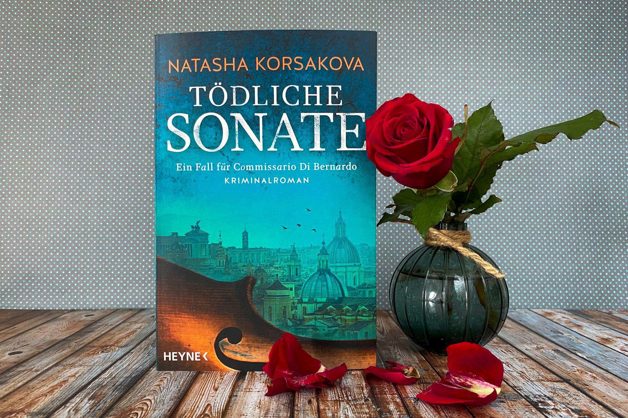 Natasha Korsakova Tödliche Sonate Kriminalroman Rom Violine Stradivari
