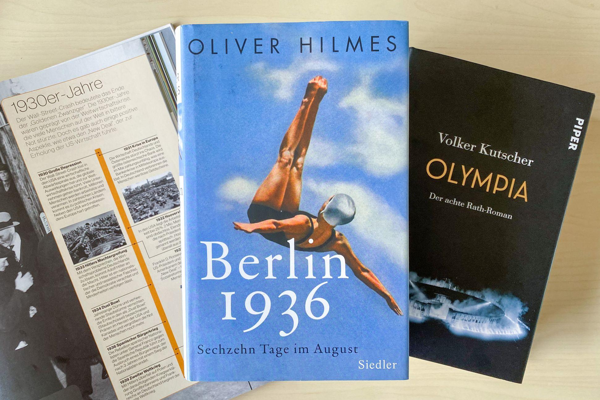 Berlin 1936 von Oliver Hilmes Olympische Spiele