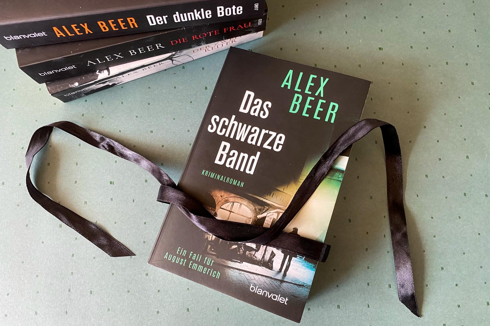 Alex Beer Das schwarze Band Wien Krimi August Emmerich Ferdinand Winter