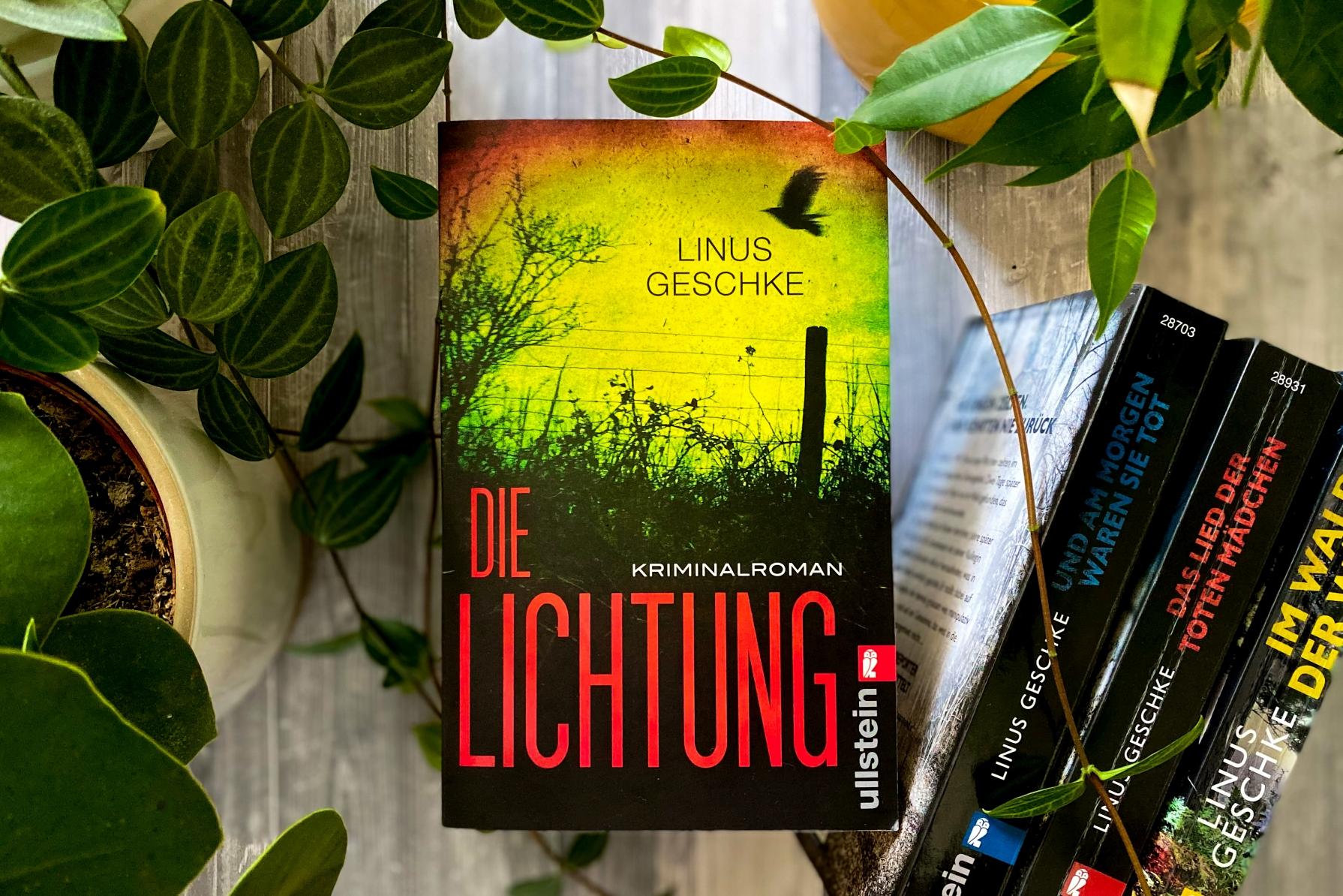 Linus Geschke Die Lichtung Jan Römer Köln Kriminalroman Krimi Ullstein