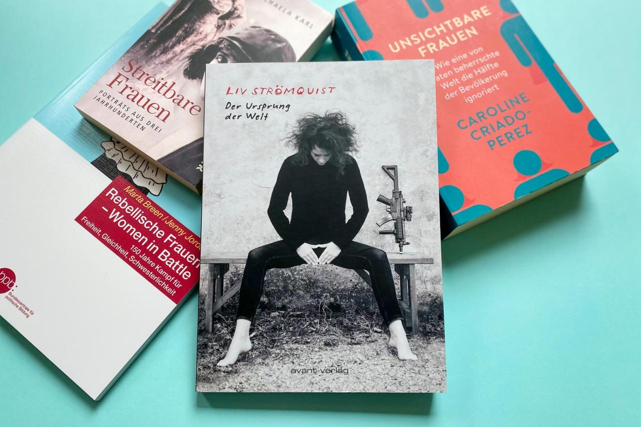 Liv Strömquist Der Urpsrung der Welt avant Verlag Feminismus